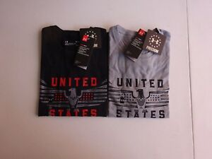 Under Armour Men's Freedom US Eagle Short Sleeve Tactical Tee NWT 2018