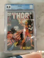 Thor #165 CGC 8.0 WHITE PAGES 1ST Warlock/ Him MCU Casting 🔥🔥🔥 LAST 12 CENT