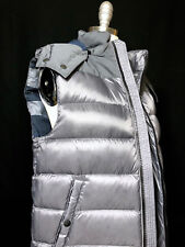 NEW Unisex Burberry Gray Puffer Down Vest
