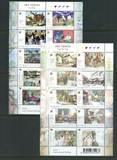 Y083  Singapore 2004   art paintings     sheets   MNH