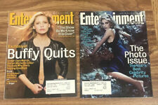 Entertainment Weekly Magazine SARAH MICHELLE GELLAR Lot of 2 FREE SHIPPING Buffy