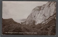New listing Postcard Beer Head nr Seaton Devon the Smugglers Cave and Undercliff RP Chapman