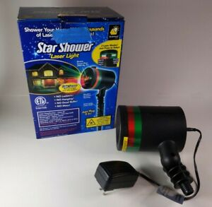 Star Shower Laser Light Bulbhead Changing Color Indoor Outdoor Lawn Decoration