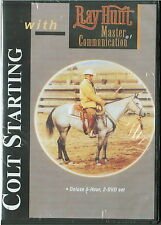 Colt Starting with Ray Hunt - 2 DVD Set ; 5 Hours Total - BRAND NEW