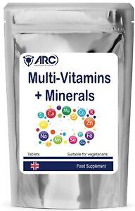 Multi Vitamins and Mineral A-Z GOLD tablets VEGETARIAN,VEGAN