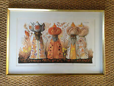 Mads Stage signed and numbered print of the three Wisemen.  Three Holy Kings