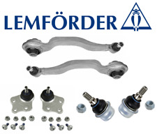 OEM Front Thrust Control Arm + Upper Lower Arm Ball Joint 6pc Lemforder Mercedes