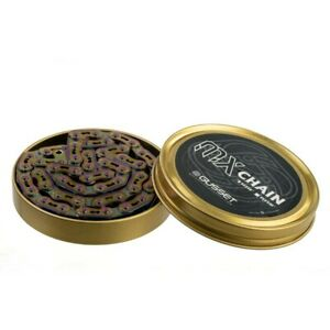 """Gusset MX BMX Chain (1/8"""") OIL SLICK JET FUEL (NEW) Limited Edition"""