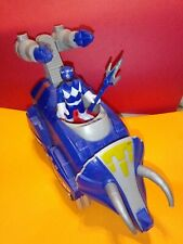 Fisher-Price Imaginext Mattel Power Rangers Blue Triceratops Ranger Missile Zord