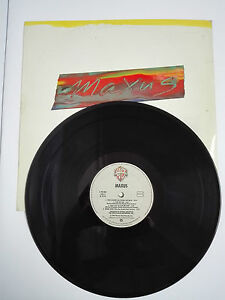 "MAXUS  LP 12"" Vinilo 1981 Warner Bros Records"