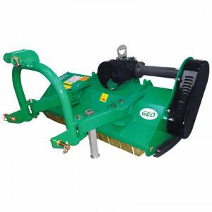 GEO EFM125 Mulcher Schlegelmulcher manuelle Verschiebung, Kleintraktor