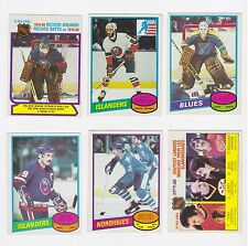 1980 80-81 O-Pee-Chee 12 Card Lot - NM * See Description for List of Cards *
