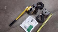 LiftTech LT. Tugit Lever Hoist - 6 Ton Catalog 295 - 44601801 NEW Just Add Chain