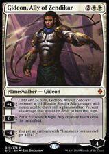 1x GIDEON, ALLY OF ZENDIKAR - Rare - Zendikar - MTG - NM - Magic the Gatherin