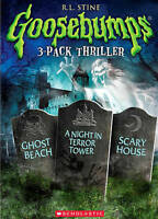 GOOSEBUMPS GHOST BEACH/NIGHT IN TERROR TOWER/SCARY HOUSE (DVD, 2014) NEW