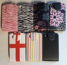Vertical PU leather, flip style phone case cover for Blackberry Curve 8520, 9300
