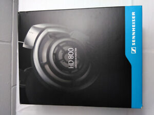 Sennheiser HD800 Headphones High end rarely used,Mint condition