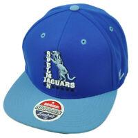 NCAA Zephyr Spelman Jaguars Blue Flat Bill Snapback Hat Cap Adjustable Game