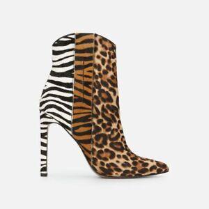 Kenneth Cole New York Women's Riley 110 Western Fashion Boot, Animal, Size UK 6