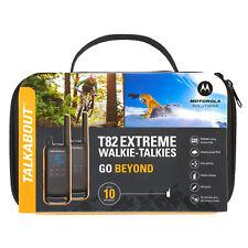 MOTOROLA Talkabout T82 Extreme pack de 2 Talkie walkie radio T 82 PMR446 libre