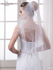 New Wedding Veil ''Piper'' from NYC Bride, made in Europe