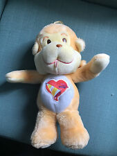 Extremely Rare! 1984/1985 Care Bear Cousins Playful Heart Monkey.