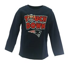 New England Patriots Official NFL Apparel Infant Toddler Size Long Sleeve Shirt