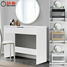 More details for dressing table vanity wooden small computer desk home office bedroom furniture
