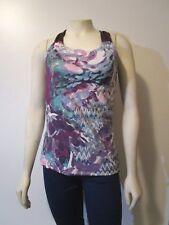 Womens PrAna Phoebe Performance Active Yoga Top Light Tank Shirt Sangria $69