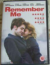 REMEMBER ME, ROBERT PATTINSON, EMILIE DE RAVIN, PIERCE BROSNAN, DVD, RATING 12