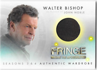 Fringe Seasons 3 & 4 Wardrobe Costume Relic Card Walter Bishop John Noble M11