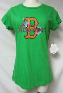 Boston Red Sox Womens Size Large T-Shirt A1 3683
