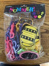 Religious Foam Keychain Kit Sunday School Bible School 30 - Count Summer Craft