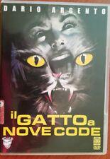 DARIO ARGENTO - IL GATTO A NOVE CODE - MEDUSA - DVD HORROR