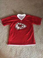 Nike Kansas City Chiefs Reversible NFL Flag Football Vintage Jersey