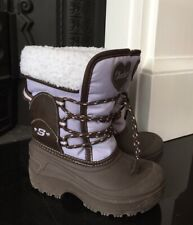 Girls Sketchers Winter snow boots Size 10 (27.5 Eu) Excellent Condition