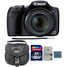 Canon PowerShot SX530 HS Digital Camera with 32GB Memory Card and Camera Case