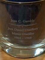 Jack Daniels Mixing//Measuring Glass Tumbler w//mix /& strainer top Silver One Le