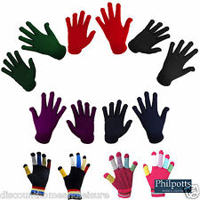 Magic Horse Riding Gloves - Adult Ladies & Childrens School Pimple Palm Grip