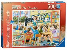 HAPPY DAYS AT WORK THE TEACHER 500 PIECE RAVENSBURGER JIGSAW PUZZLE