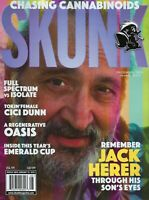 Skunk Magazine December 2019   Jack Herer