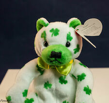 "Ty ""Clover"" Beanie Baby DOB March 17 2001 Retired New St. Pat Gift"