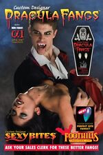Dracula Vampire Fangs Professional Custom Designer Fangs