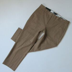 NWT Banana Republic Avery Fit Trouser in Camel Stretch Ankle Crop Pants 12