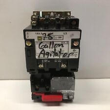 Guaranteed Square D Sz 00 Contactor With Motor Logic Over Load 8536sao12h20s