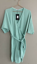 Fashion Nova Vivid Vibe Belted Midi Dress Size M NWT