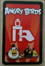 •Angry Birds Knock on Wood Game Parts Pieces- 10 Red Mission Cards Only EUC