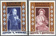 Österreich 2174-2175 (kompl.Ausg.) postfrisch 1995 Komponisten