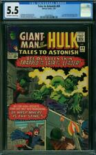 Tales to Astonish #69 CGC 5.5 -- 1965 -- Human Top. Leader. Wasp. #2001879010
