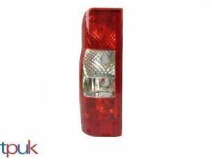 FORD TRANSIT MK7 LEFT BACK REAR TAIL LIGHT LENS LAMP PASSENGER SIDE VAN BUS